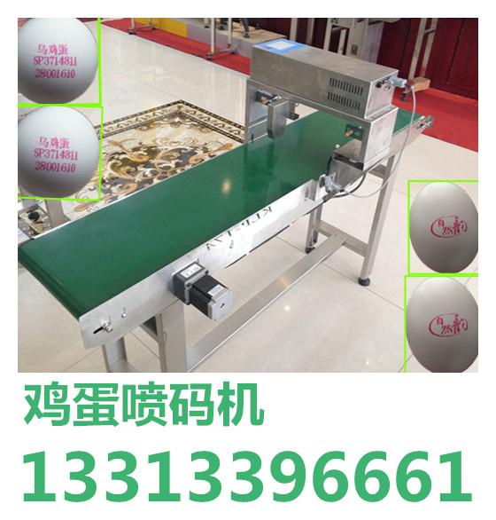 2015中秋大促鸡蛋喷码机,河北鸡蛋喷码机价格
