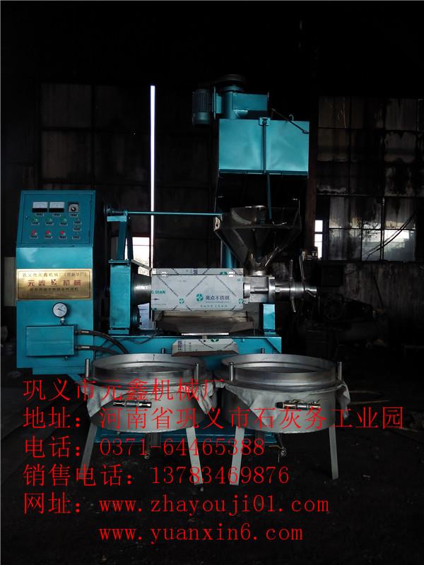 五指山市菜籽榨油机,小型花生榨油机的特点及使用方法介绍,元鑫机械厂为高新技术企业