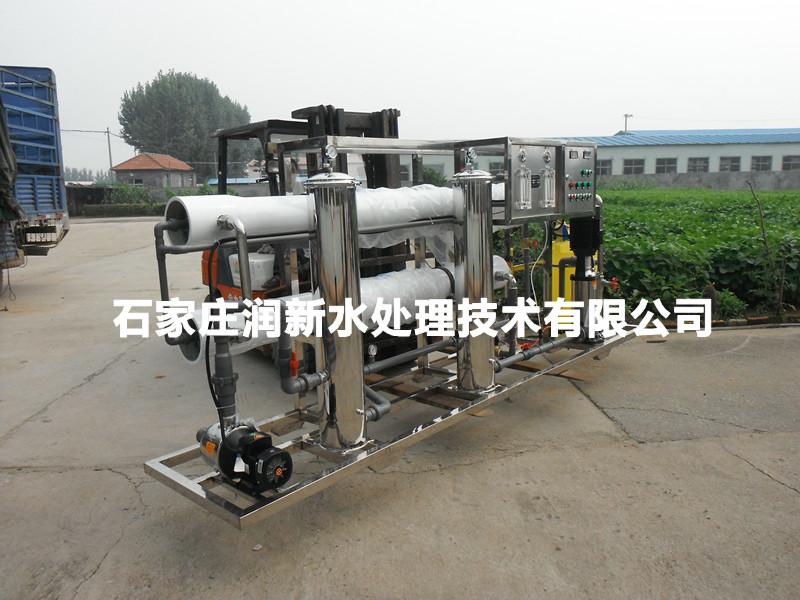 河北石家庄生产安装调试纯净水设备反渗透设备直饮水设备