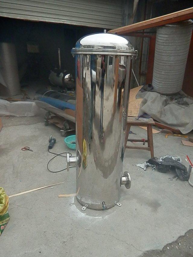河北石家庄生产不锈钢海水养殖过滤机组袋式过滤器