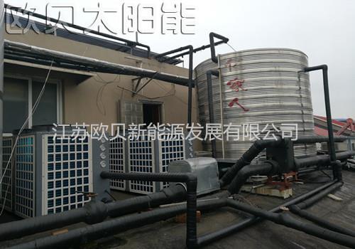 高邮中华园浴城空气能热水系统