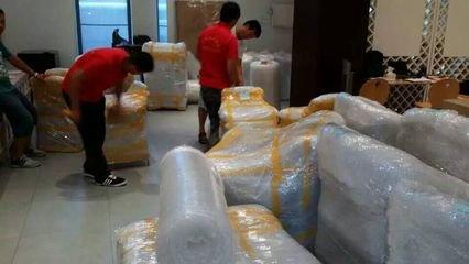 松江区申通物流大件行李物品上门打包托运18321788438