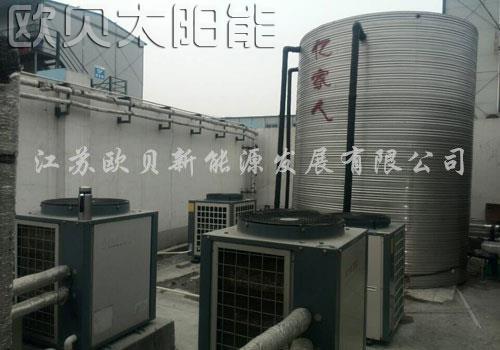 中铁建工南京工地15吨空气能热水工程