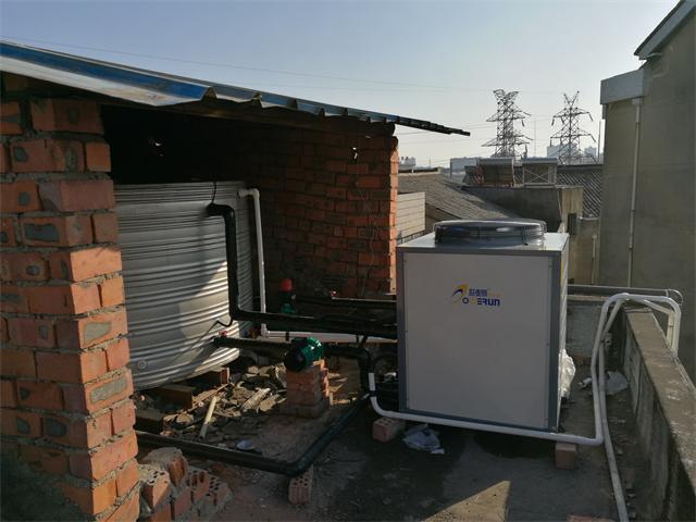 常州溧阳东方宏盛宾馆3吨空气能热水工程