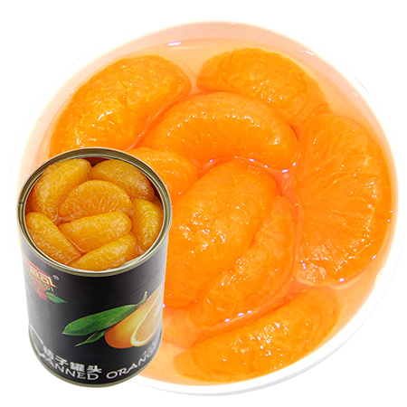 易拉罐装425G*6罐桔子罐头