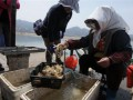 山东青岛渔港小银鱼八带唱主角 小海鲜价格不贵
