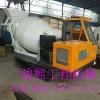 浙江小型履带式混凝土运输车 混凝土搅拌运输罐车