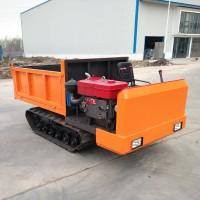 泥路运输车,履带底盘自卸车,3吨履带车