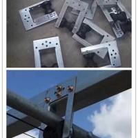 大棚配件厂供应 大棚门型吊轮