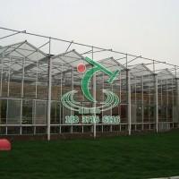 【豫拓温室】河南开封智能连栋玻璃温室建设设计加工安装